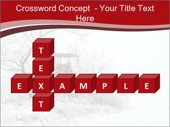 Snowy landscape PowerPoint Templates - Slide 82