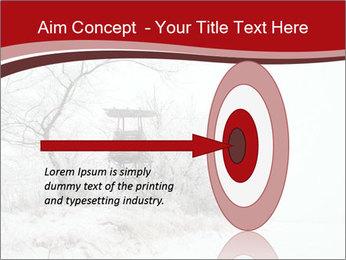 Snowy landscape PowerPoint Templates - Slide 83