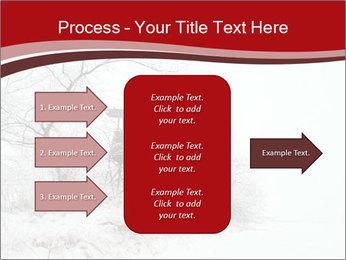 Snowy landscape PowerPoint Templates - Slide 85