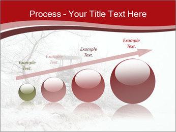 Snowy landscape PowerPoint Templates - Slide 87