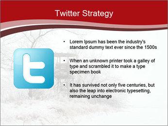 Snowy landscape PowerPoint Templates - Slide 9