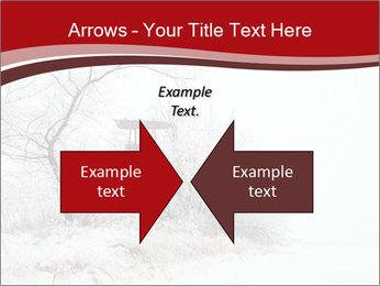 Snowy landscape PowerPoint Templates - Slide 90