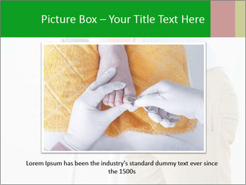 Close-up mid section of a man PowerPoint Template - Slide 16