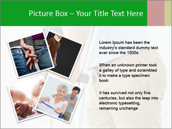 Close-up mid section of a man PowerPoint Template - Slide 23