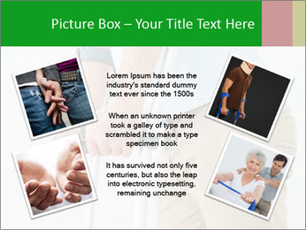 Close-up mid section of a man PowerPoint Template - Slide 24