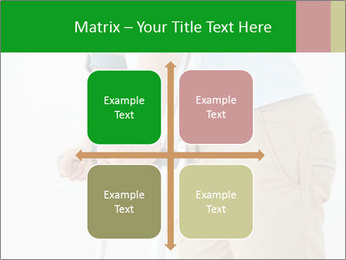 Close-up mid section of a man PowerPoint Template - Slide 37