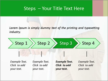 Close-up mid section of a man PowerPoint Template - Slide 4