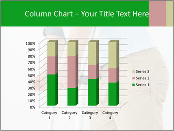 Close-up mid section of a man PowerPoint Template - Slide 50