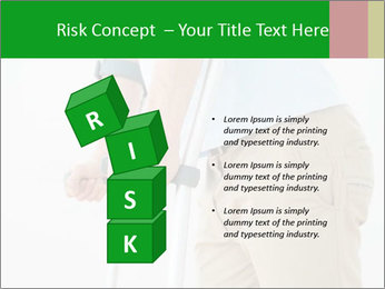 Close-up mid section of a man PowerPoint Template - Slide 81