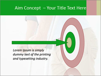 Close-up mid section of a man PowerPoint Template - Slide 83