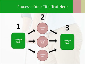 Close-up mid section of a man PowerPoint Template - Slide 92