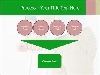 Close-up mid section of a man PowerPoint Template - Slide 93