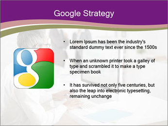 Businessman works PowerPoint Templates - Slide 10