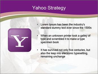 Businessman works PowerPoint Templates - Slide 11