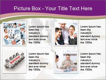 Businessman works PowerPoint Templates - Slide 14