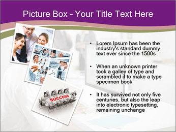 Businessman works PowerPoint Templates - Slide 17