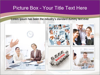 Businessman works PowerPoint Templates - Slide 19