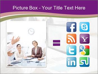 Businessman works PowerPoint Templates - Slide 21
