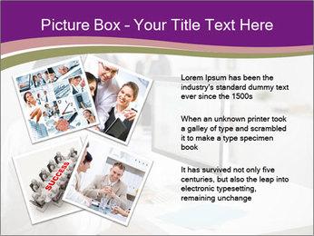 Businessman works PowerPoint Templates - Slide 23