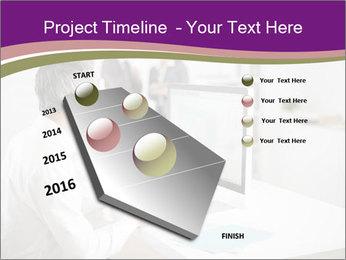 Businessman works PowerPoint Templates - Slide 26