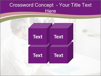 Businessman works PowerPoint Templates - Slide 39