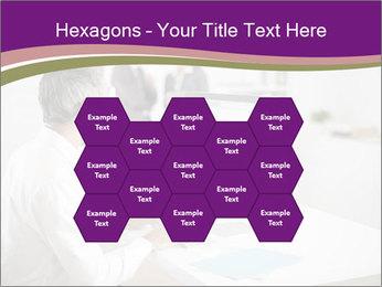 Businessman works PowerPoint Templates - Slide 44
