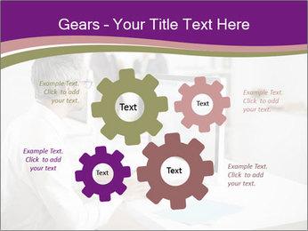 Businessman works PowerPoint Templates - Slide 47