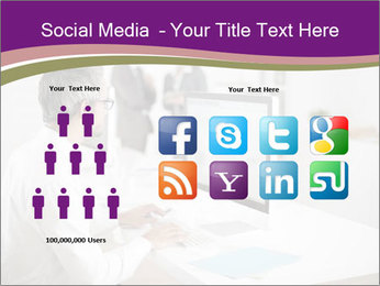 Businessman works PowerPoint Templates - Slide 5