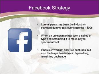 Businessman works PowerPoint Templates - Slide 6