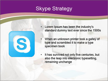 Businessman works PowerPoint Templates - Slide 8