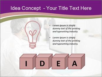 Businessman works PowerPoint Templates - Slide 80