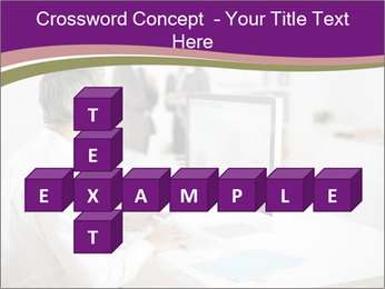 Businessman works PowerPoint Templates - Slide 82