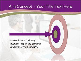 Businessman works PowerPoint Templates - Slide 83