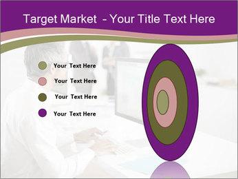 Businessman works PowerPoint Templates - Slide 84