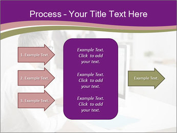 Businessman works PowerPoint Templates - Slide 85