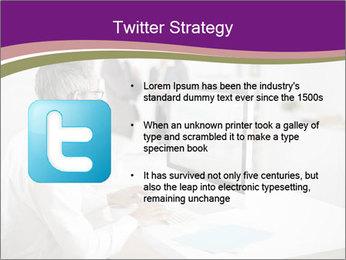 Businessman works PowerPoint Templates - Slide 9
