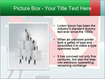 Abstract Businessman PowerPoint Template - Slide 13