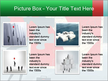 Abstract Businessman PowerPoint Template - Slide 14