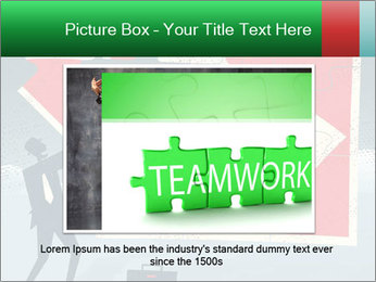 Abstract Businessman PowerPoint Template - Slide 16