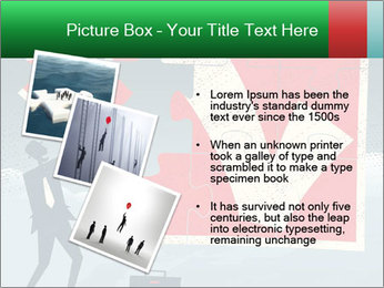 Abstract Businessman PowerPoint Template - Slide 17