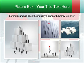 Abstract Businessman PowerPoint Template - Slide 19
