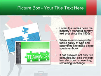 Abstract Businessman PowerPoint Template - Slide 20