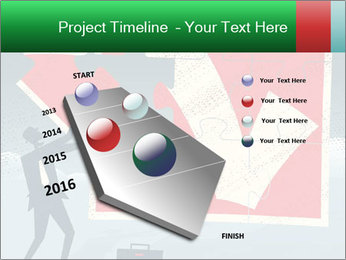 Abstract Businessman PowerPoint Template - Slide 26