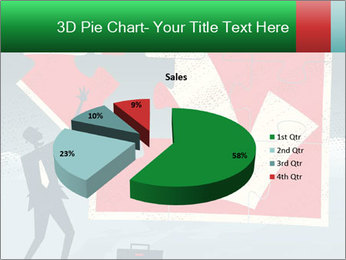 Abstract Businessman PowerPoint Template - Slide 35