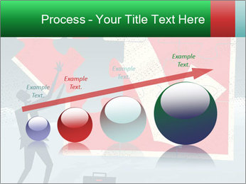 Abstract Businessman PowerPoint Template - Slide 87