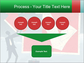 Abstract Businessman PowerPoint Template - Slide 93