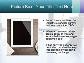 Office desk PowerPoint Template - Slide 13