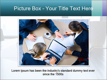 Office desk PowerPoint Template - Slide 15