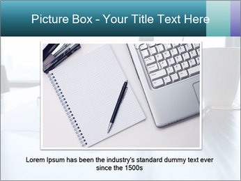Office desk PowerPoint Template - Slide 16