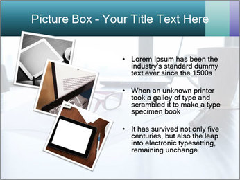 Office desk PowerPoint Template - Slide 17